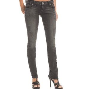 Guess Jeans black distressed